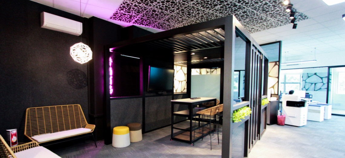 T Space office partition singapore